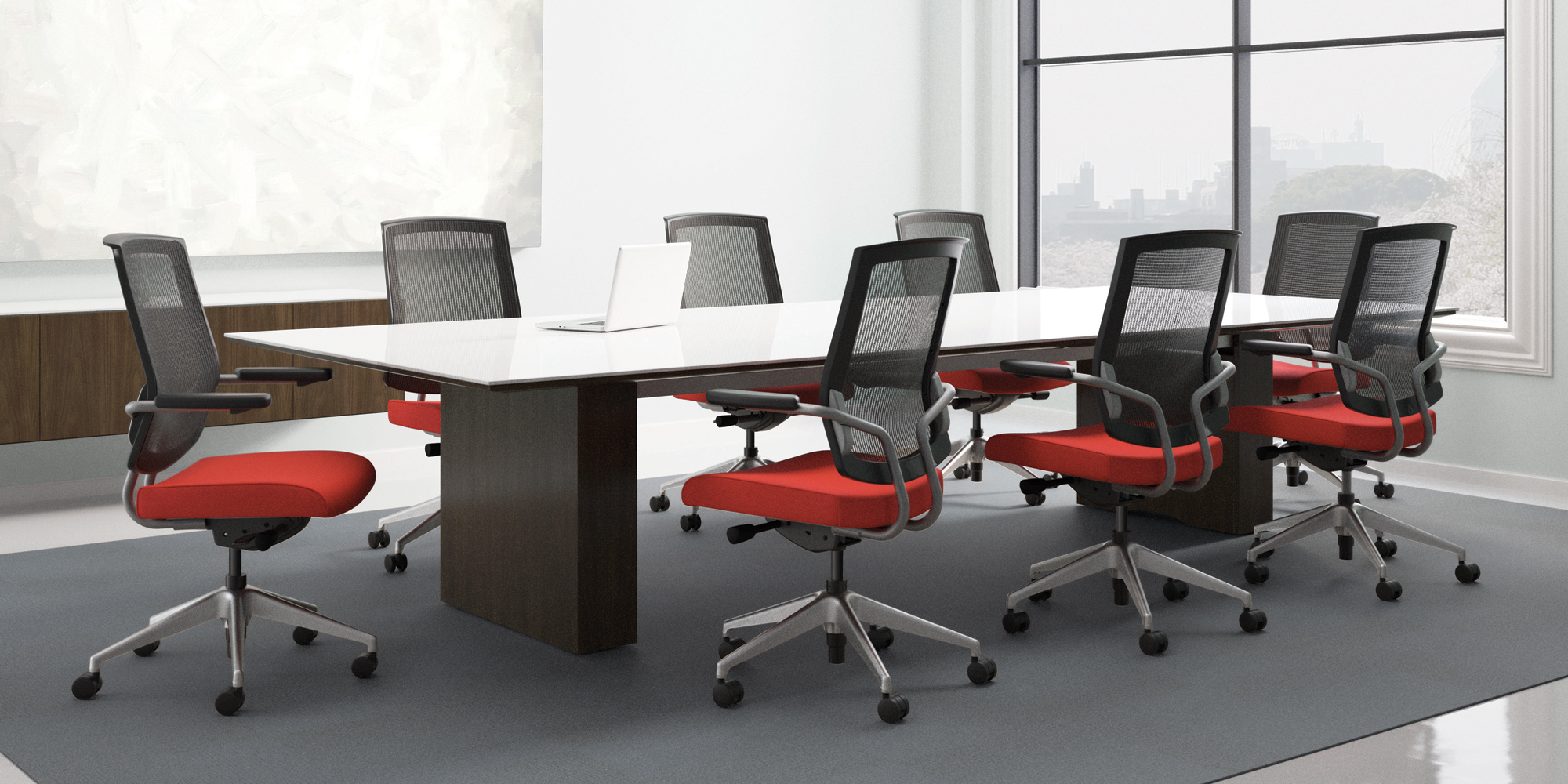 Red conference room chairs - Red Conference Room Chairs 19